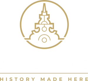 The Arcade History Made Here logo